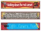 Hollywood Bookmarks, Shelf Markers or Desk Name Plates - EDITABLE
