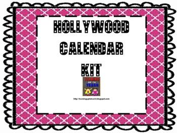 Hollywood Calendar kit and Birthday celebration