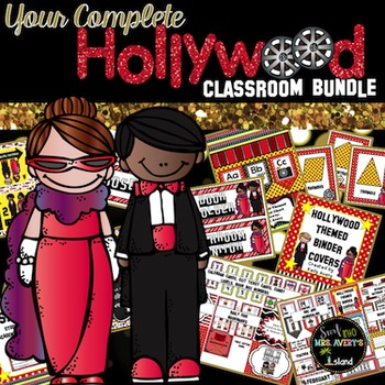 Hollywood Themed Classroom Decor