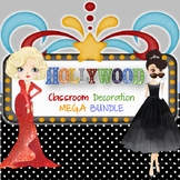 Hollywood Classroom Decorations MEGA BUNDLE -Editable1
