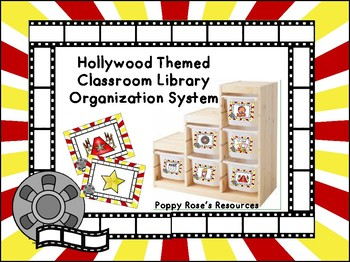 Hollywood Classroom Library Organization System