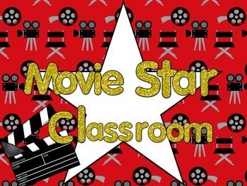 Movie Star Classroom Theme