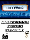 Hollywood Classroom Theme Packet - Back to School