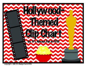 Hollywood Clip Chart