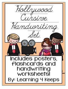 Hollywood Cursive Handwriting Pack