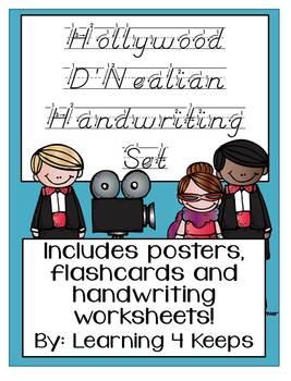 Hollywood D'Nealian Handwriting Pack