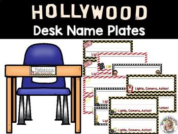 Hollywood Desk Name Plates