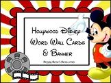 Hollywood Disney Word Wall Alphabet & Banner