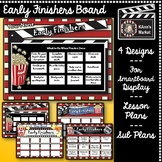 Hollywood Early Finishers Board- For Smartboard Display, L