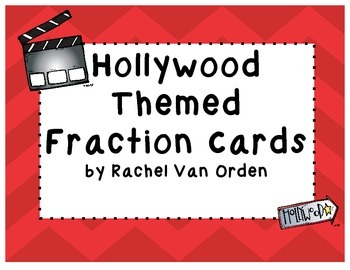 Hollywood Fraction Cards