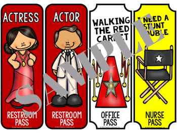 Hollywood Hall Passes