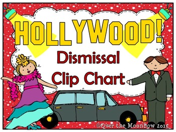 Hollywood! How We Go Home Dismissal Clip Chart