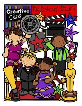 Hollywood KIDS {Creative Clips Digital Clipart}