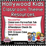 Hollywood Kids Classroom Theme Resources Bundle