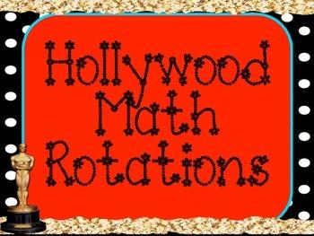 Hollywood Math Rotations Board