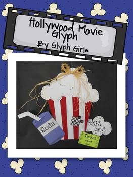 Hollywood Movie Glyph