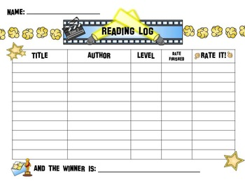 Hollywood / Movie Reading PACK