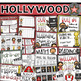 Hollywood Movie Star Classroom Decorations and Management Mega Bundle