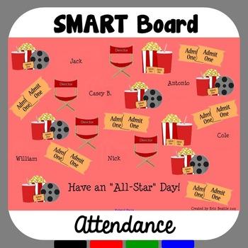 SMART Board Attendance: Hollywood Movie