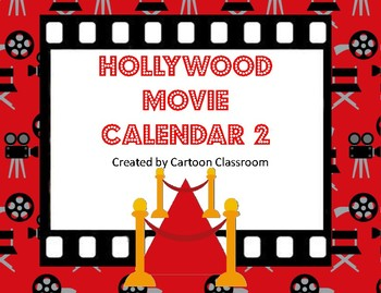Hollywood Movie Themed Calendar 2