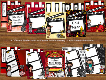 Hollywood Movie Themed Classroom Decor and More Bundle