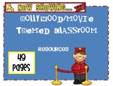 Movie Classroom Decor: Hollywood Movie Themed Classroom