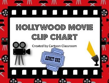 Hollywood Movie Themed Clip Chart 2