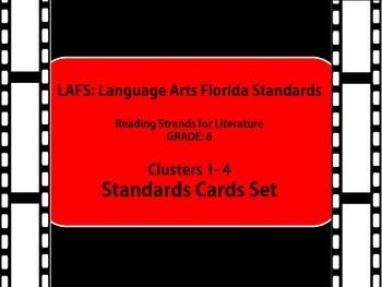 LAFS standards Hollywood / Movie theme grade 6  literature