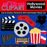 Hollywood Movies Clip Art (Digital Use Ok!)