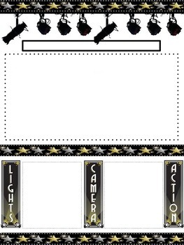 Hollywood Newletter Template
