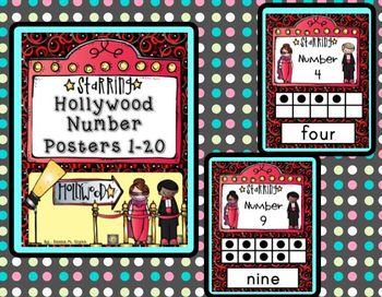 Hollywood Number Posters 1-20