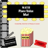 Place Value Mat- Hollywood Theme