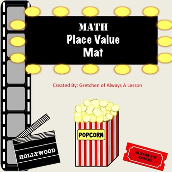 Hollywood Place Value Mat