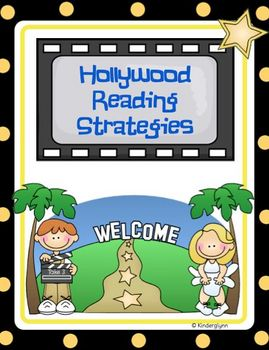 Hollywood Reading Strategy Posters (Aussie Version Included)