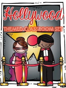 Hollywood Room Theme with Editable Pages!