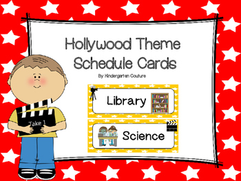 Hollywood Schedule Cards