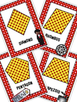 Hollywood, Shapes, Math, Hollywood Posters, Movie Theme, Geometry