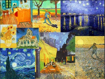 Hollywood Squares Game - Impressionism - Post Impressionism - Art