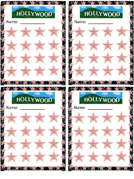 Hollywood Star Bundle (Editable)