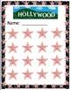 Hollywood Star Sticker Chart