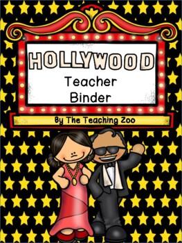 Hollywood Teacher Binder {FREE yearly updates!}