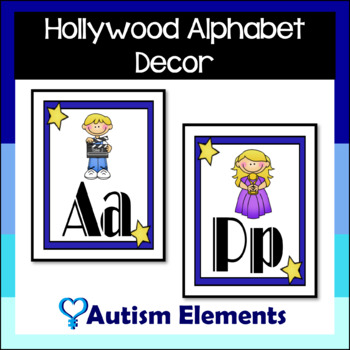 Hollywood Theme Alphabet