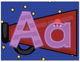 Hollywood Theme Alphabets
