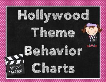 Hollywood Theme Behavior Chart