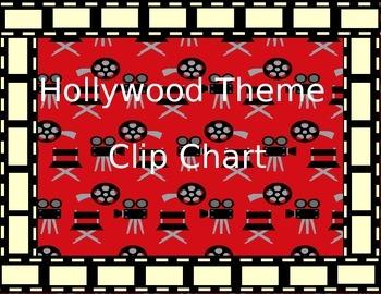 Hollywood Theme Behavior Clip Chart