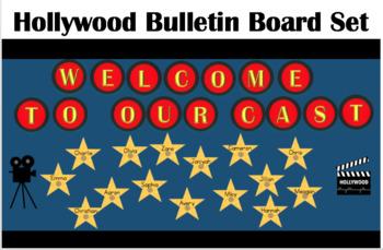 Hollywood Theme Bulletin Board Set
