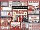 Hollywood Theme Bundle - Decor, Binder Covers, Reading and Science Posters
