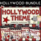 Hollywood Theme Bundle - Decor, Binder Covers, Reading and