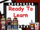 Hollywood Theme Classroom Decor Clip Chart - Editable