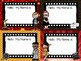 Hollywood Theme Classroom Decor Name Labels or Tags Non Editable